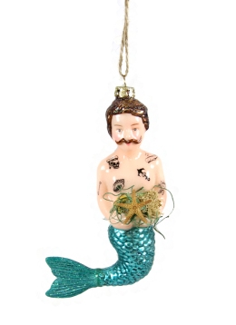 [W.A. Green] Cody Foster Tattoo Merman Decoration, £22